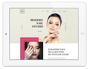 creation site web coiffure